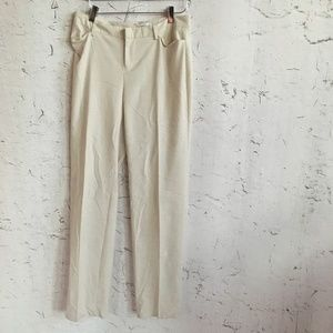 COLDWATER CREEK NATURAL FIT TAN TROUSERS 4